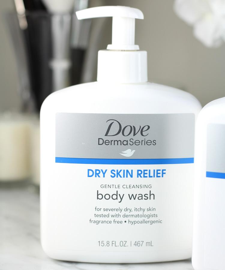 Dove DermaSeries Body Wash