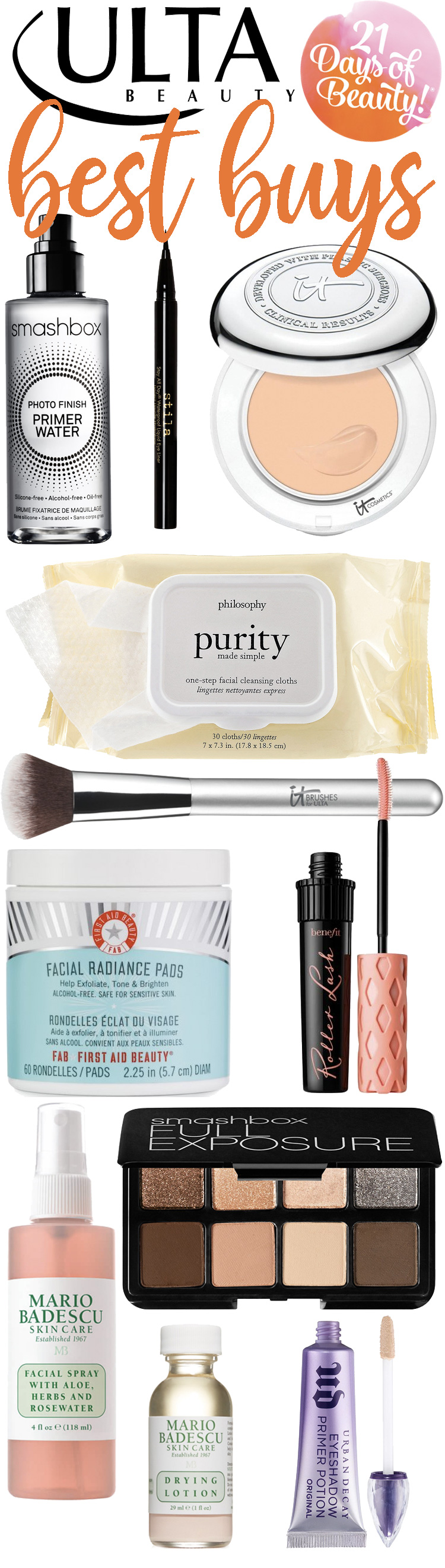 ULTA 21 Days of Beauty Best Buys!