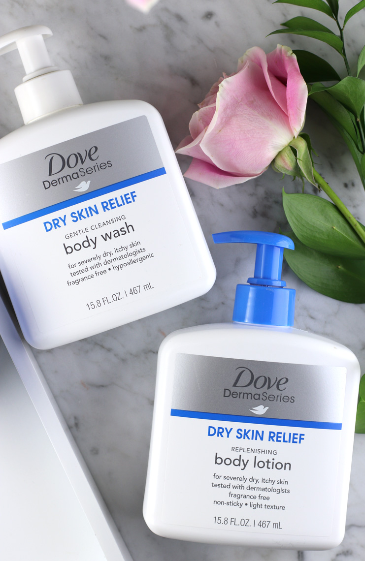 Dove DermaSeries Body Care Products