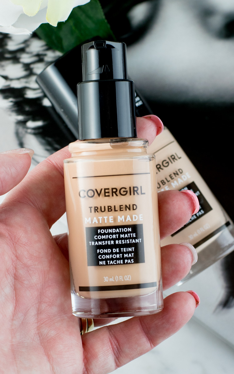 Review: COVERGIRL TruBlend Matte Made Foundation