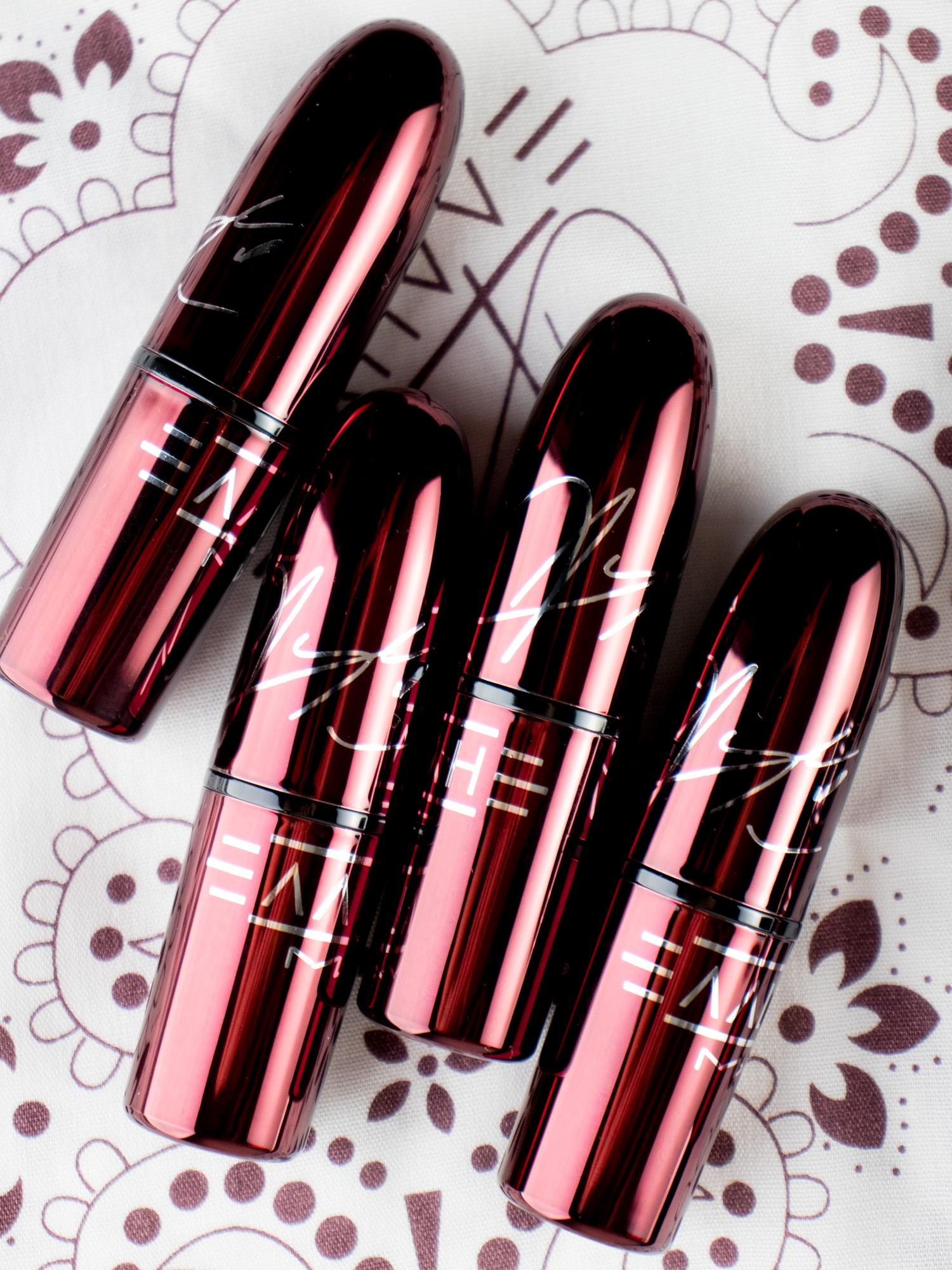 MAC X Aaliyah Collection Lipsticks