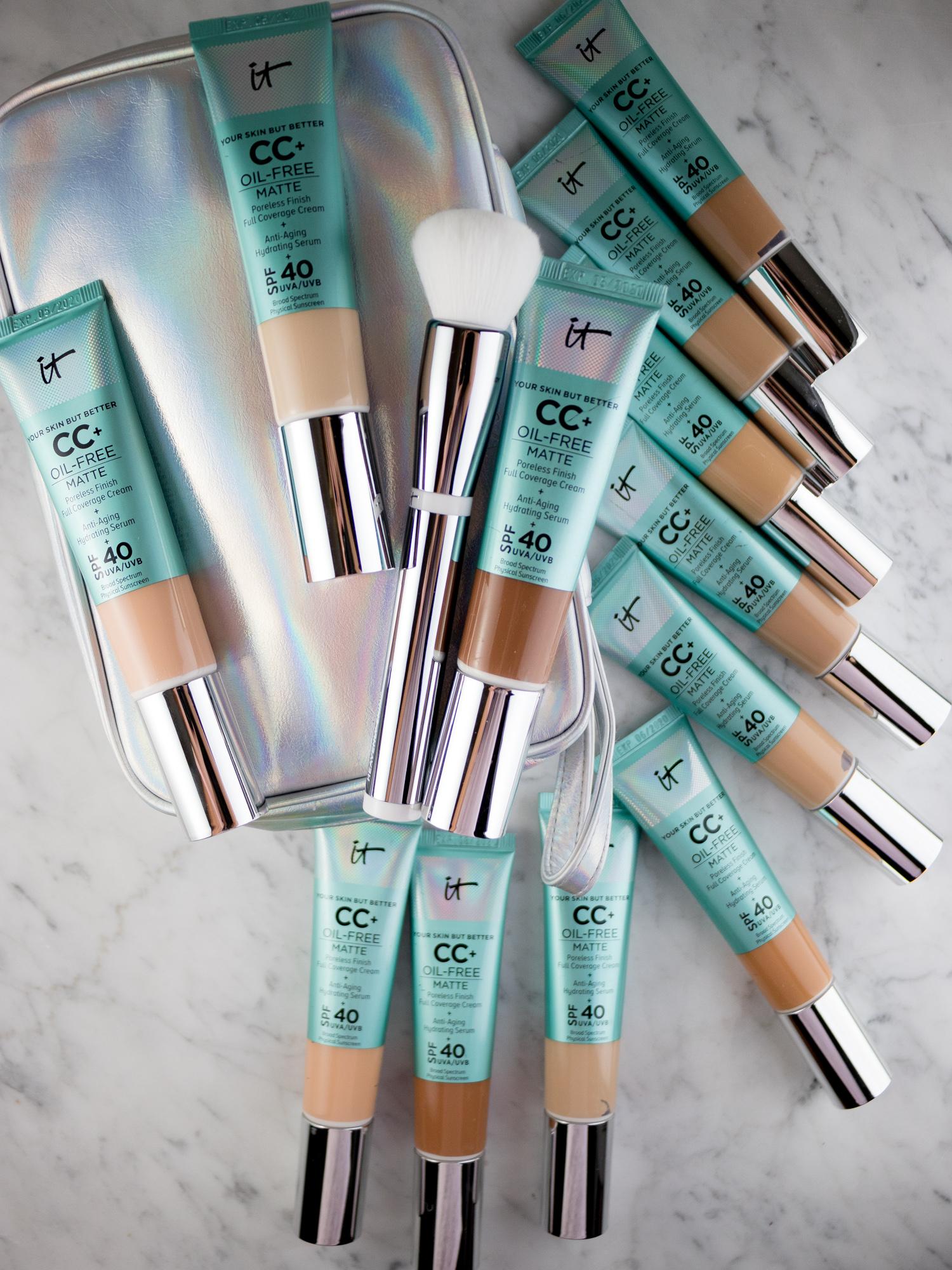 IT Cosmetics CC+ Cream Oil-Free Matte — Every Shade!
