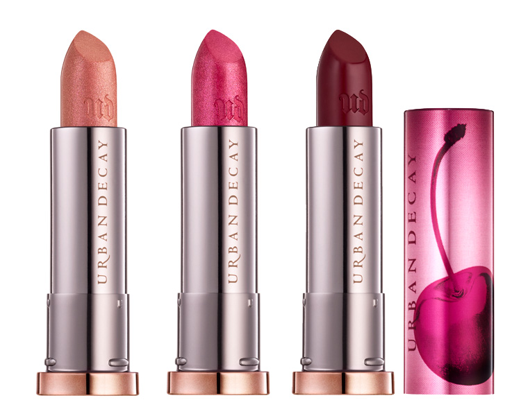 Urban Decay Naked Cherry Vice Lipsticks