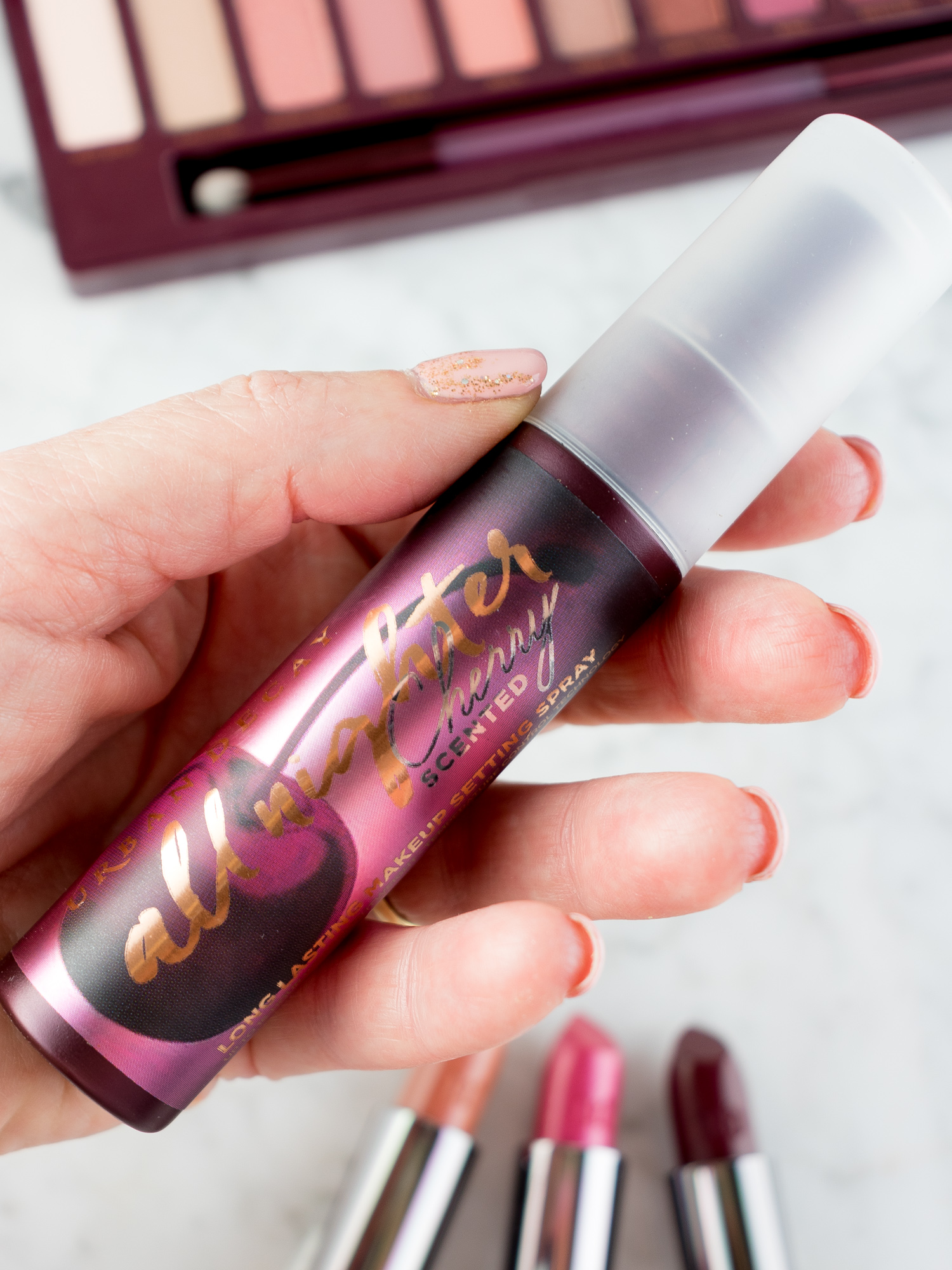Urban Decay NAKED Cherry Travel-Size All Nighter Makeup Setting Spray