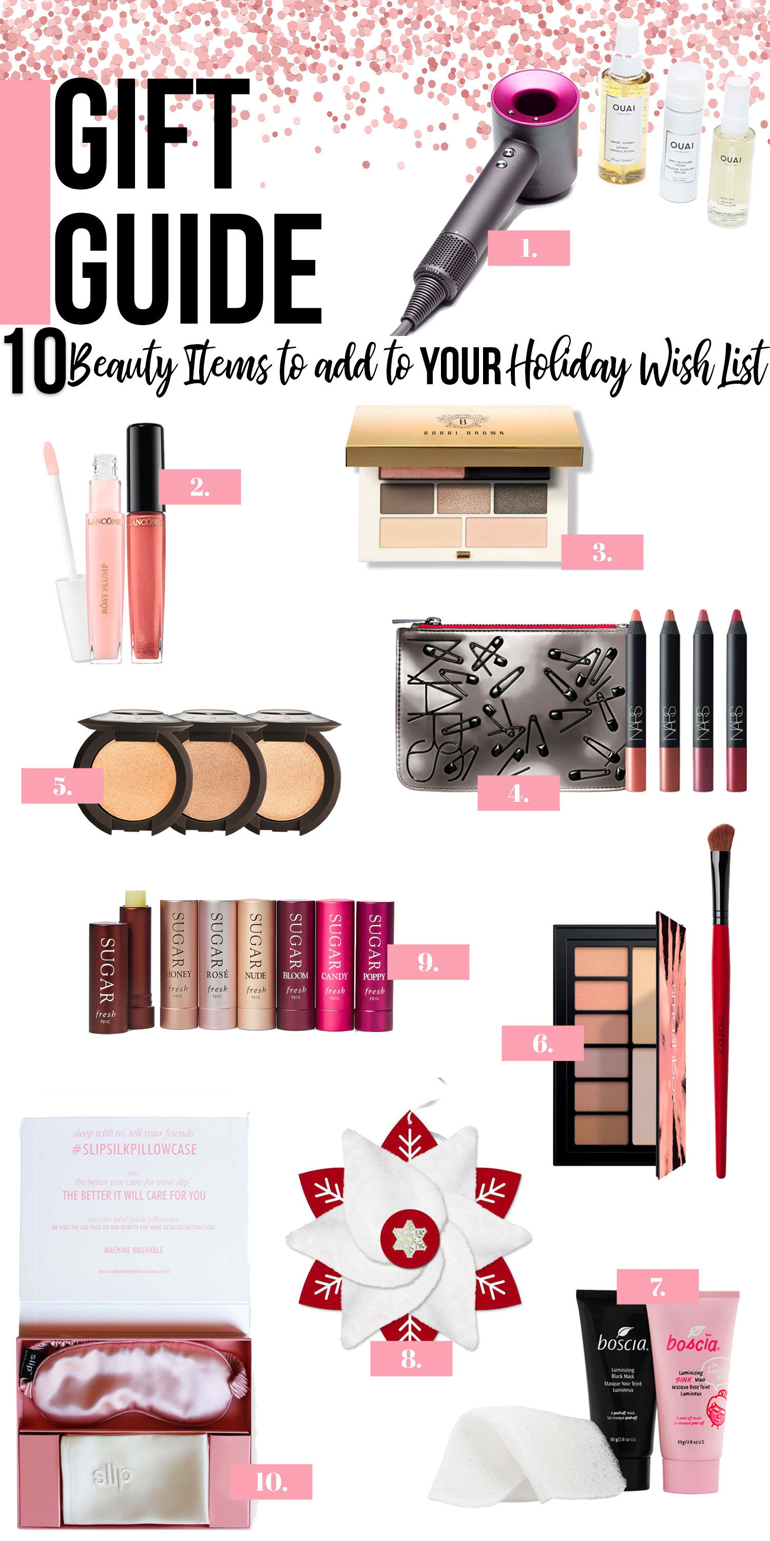 10 Beauty Items to Add to YOUR Holiday Wish List NOW
