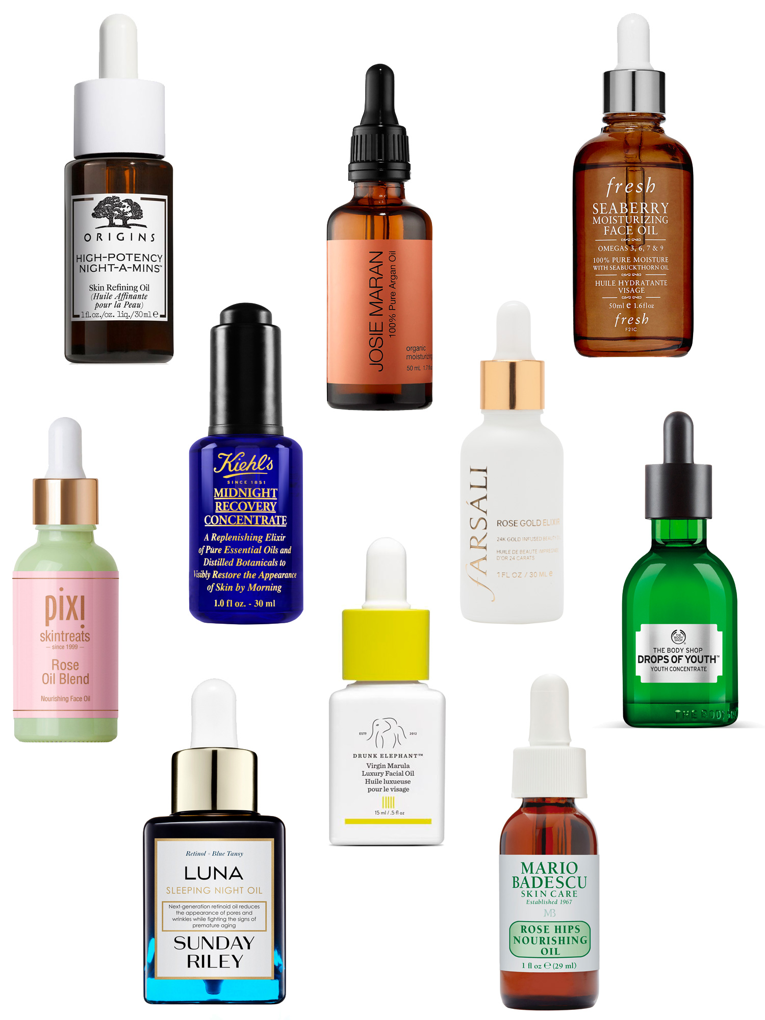 10 Oils to Make Your Dry Skin Glow