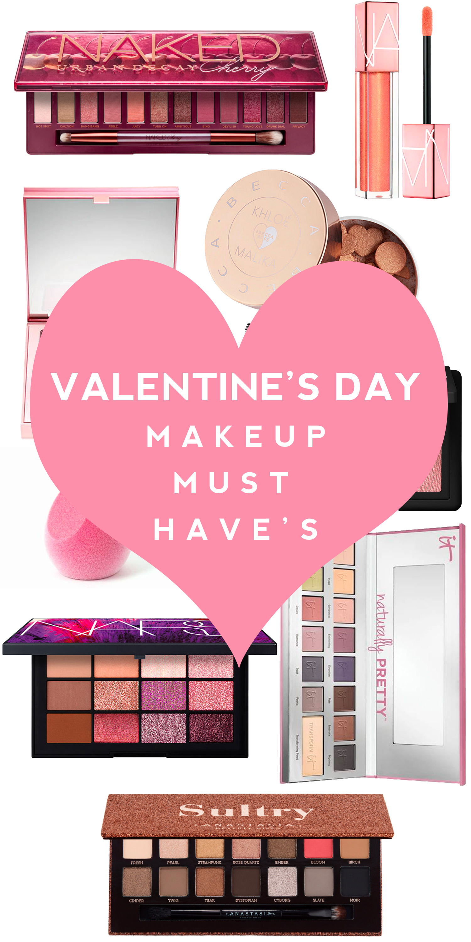 Valentine's Day Makeup Must-Haves
