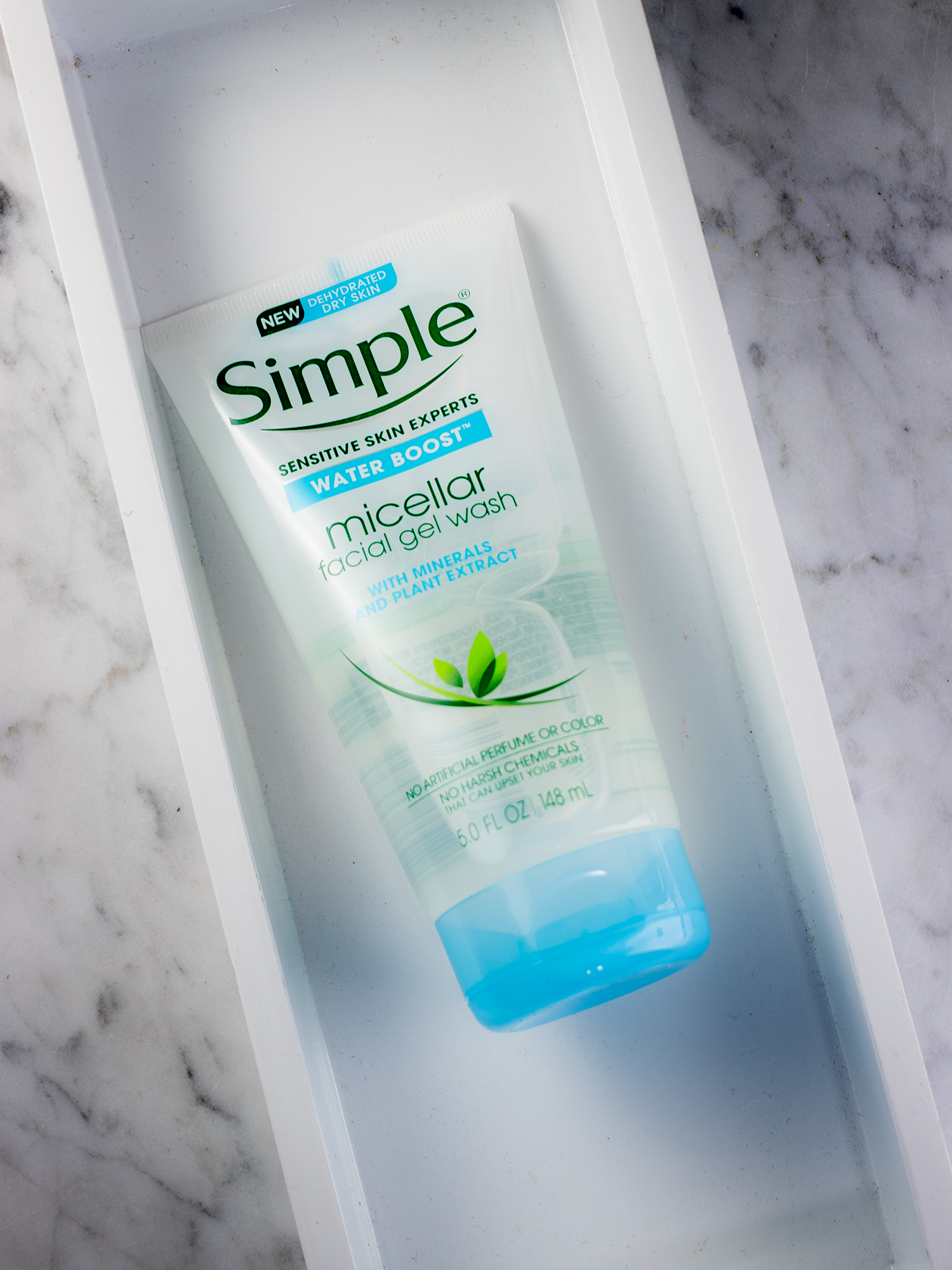 Simple Water Boost Micellar Facial Gel Wash