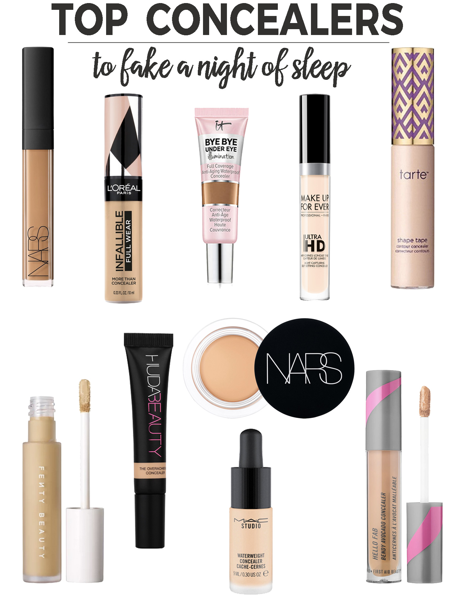 10 Concealers to Fake a Good Night of Sleep