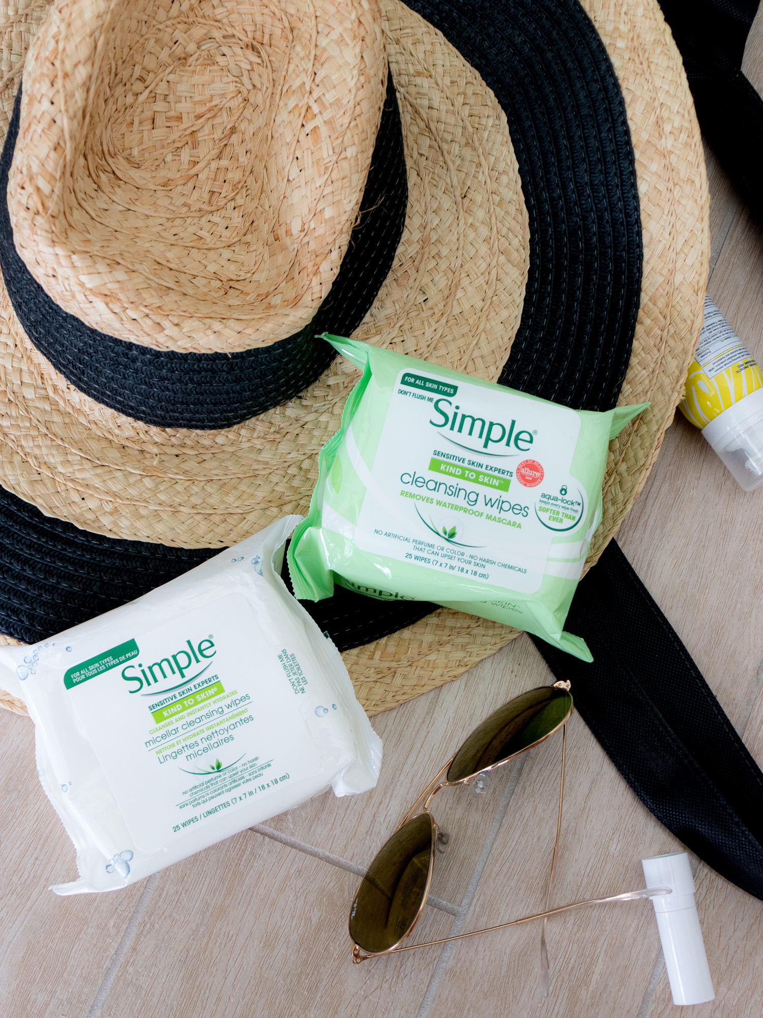 A Travel Must: Simple Cleansing Wipes