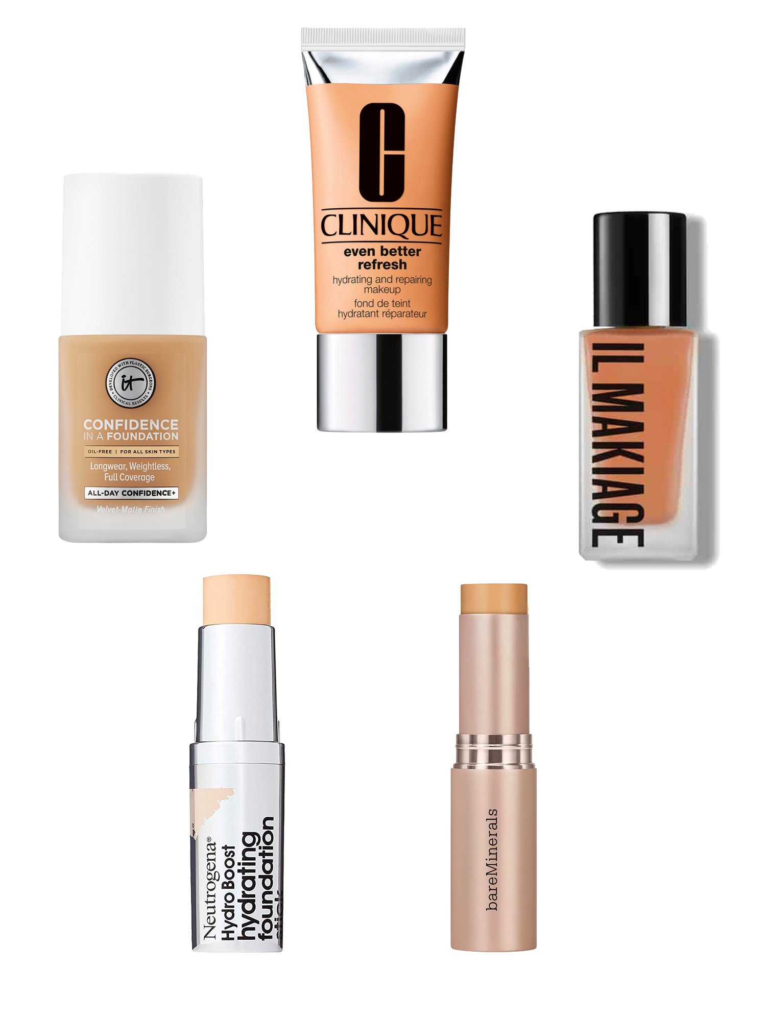 Glow Up: 5 Newer Foundations that Impress