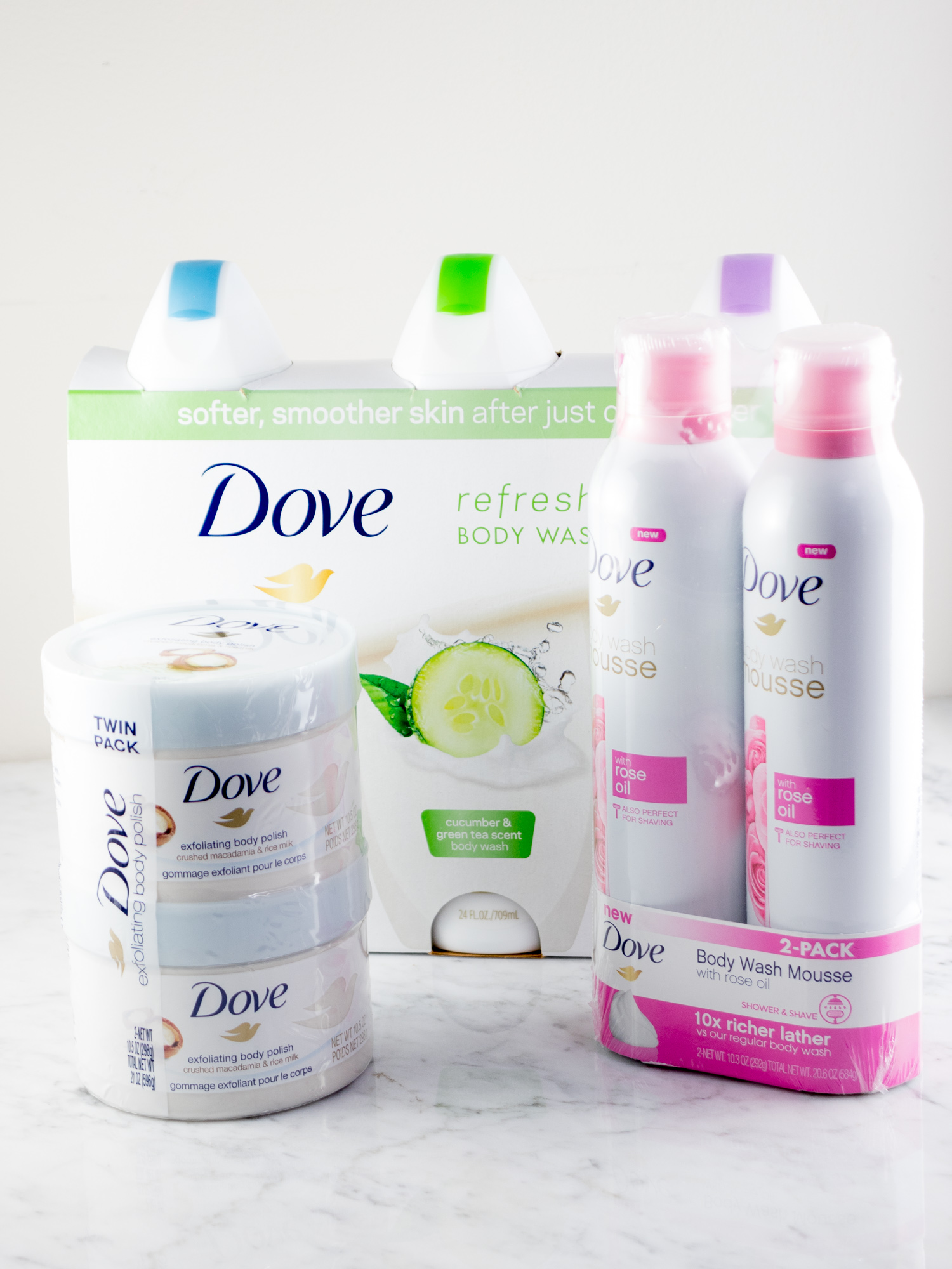 Pampering Myself for Mother's Day with Dove Products from Sam's Club