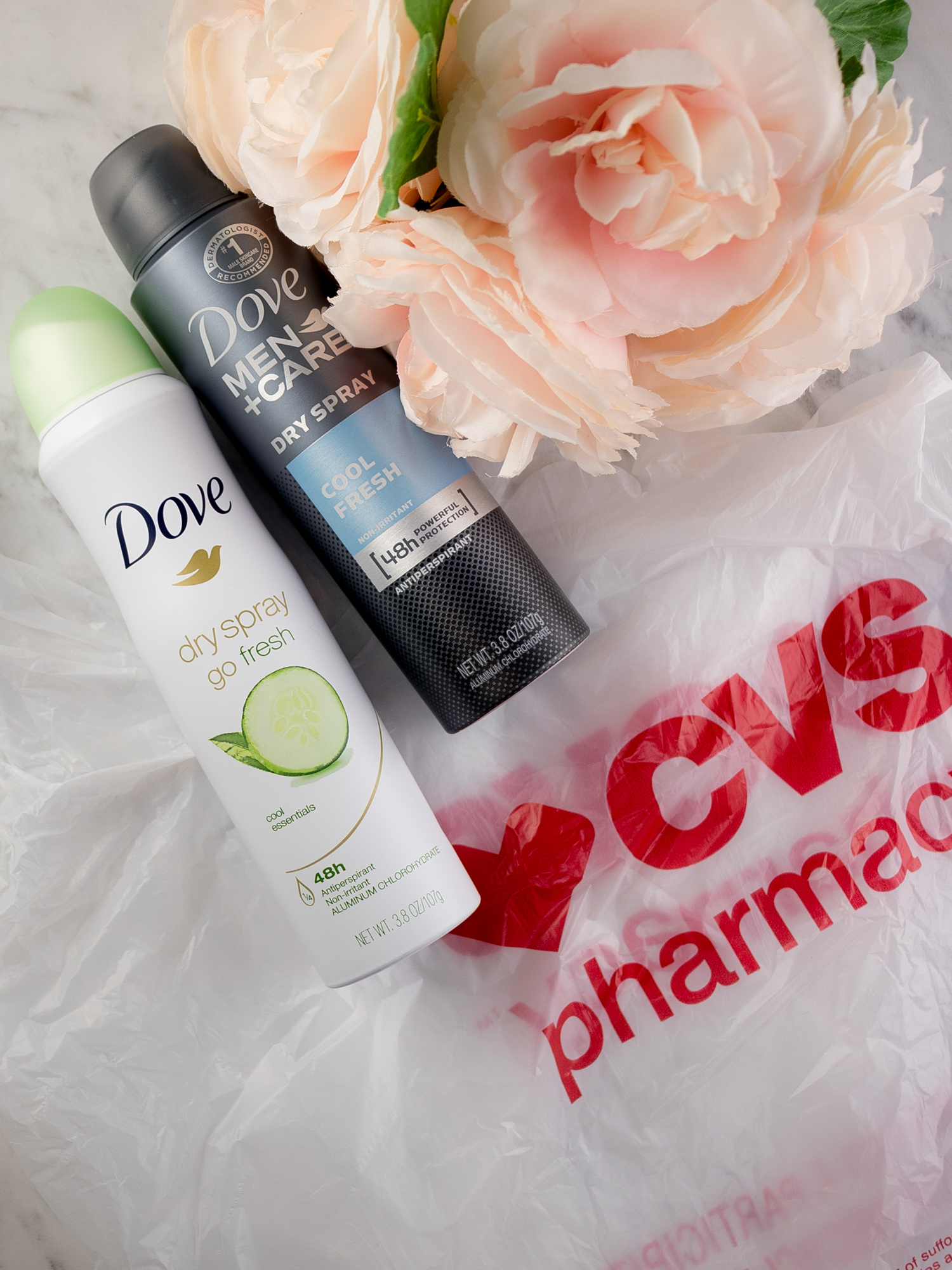Dove Dry Sprays from CVS