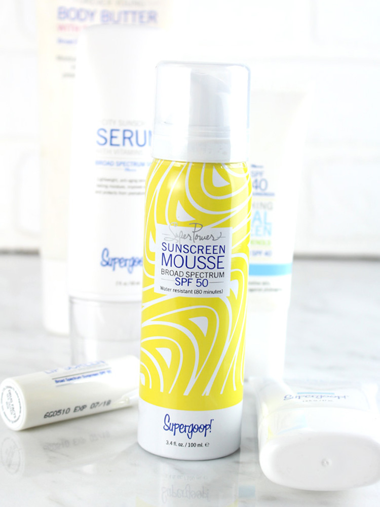 Supergoop! Sunscreen Mousse