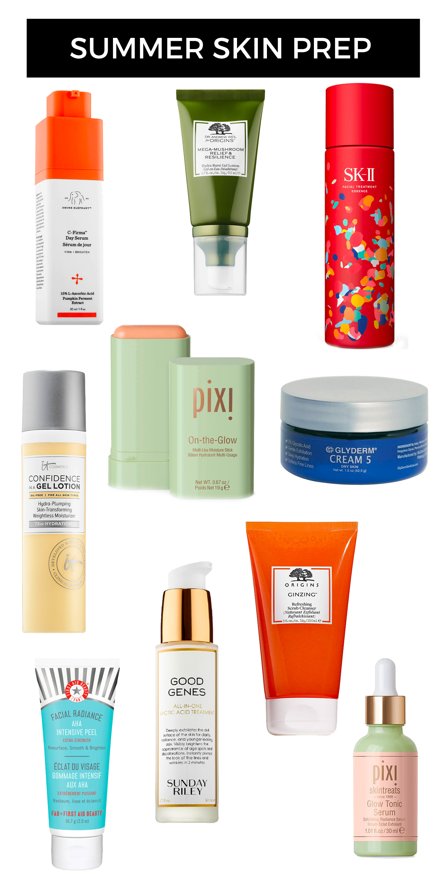 Summer Skin Prep: 10 Skin Care Products You Need Now
