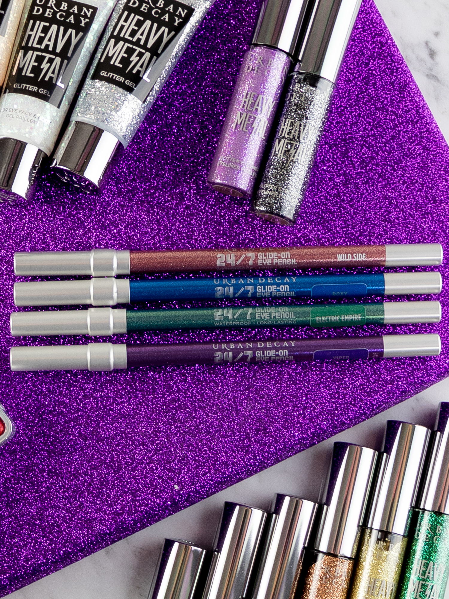 Urban Decay Sparkle Out Loud Collection Hi-Fi Shine Lipgloss 24/7 Glide-On Eye Pencil