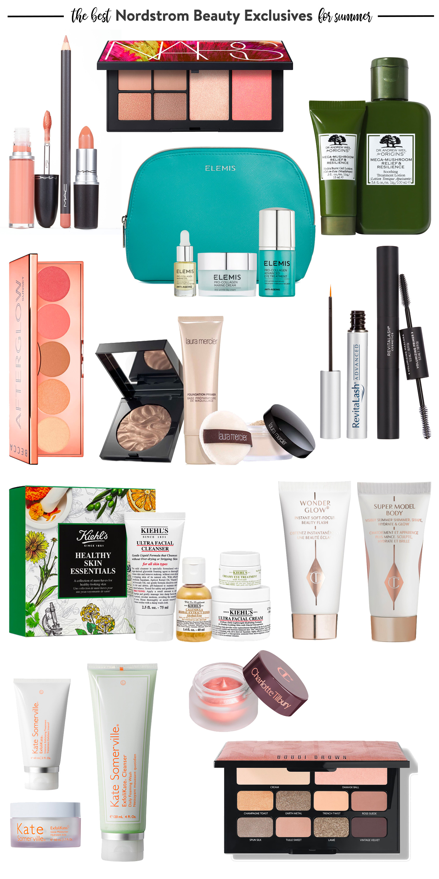 Nordstrom Beauty Exclusives for Summer 2019