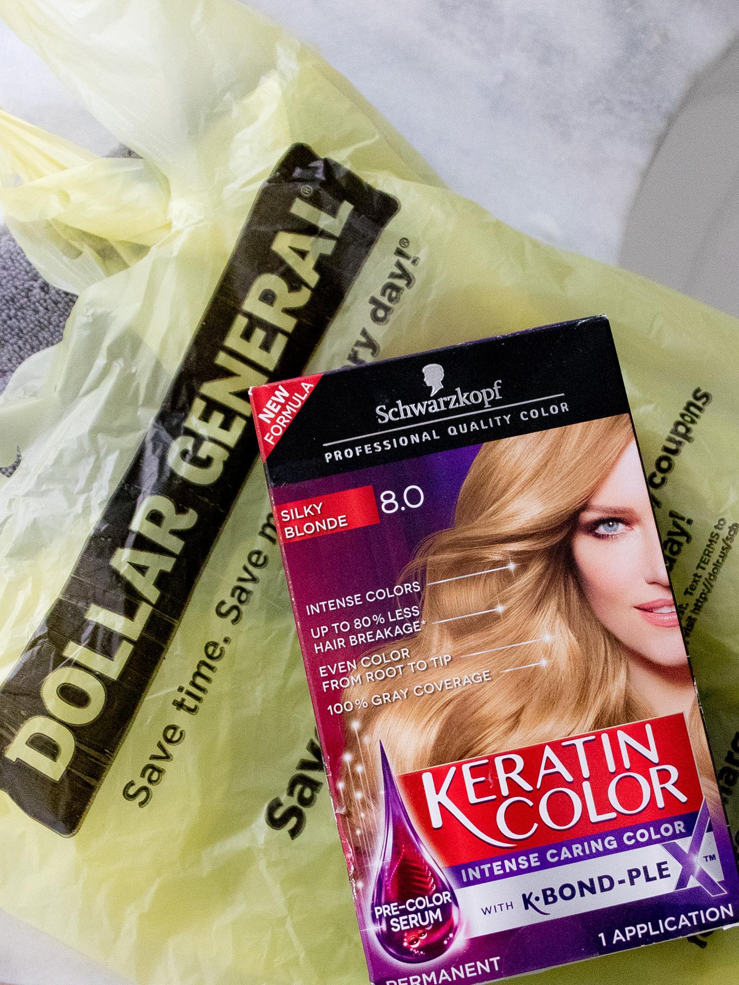 Keratin Color at Dollar General