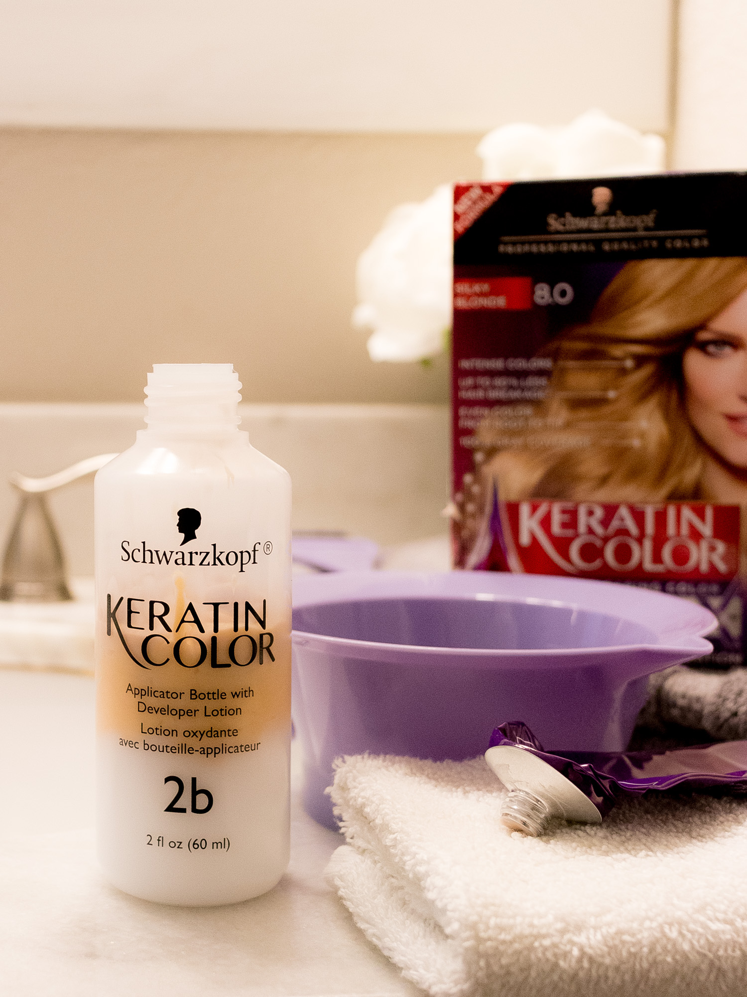 Maintaining Beautiful Hair with Schwarzkopf® Keratin Color