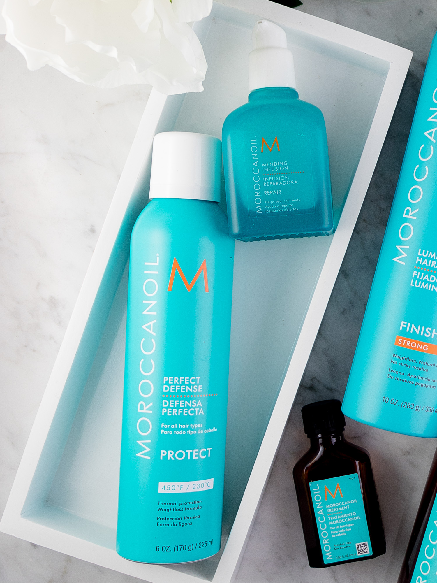 Moroccanoil Must-Haves: Mending Infusion & Perfect Defense
