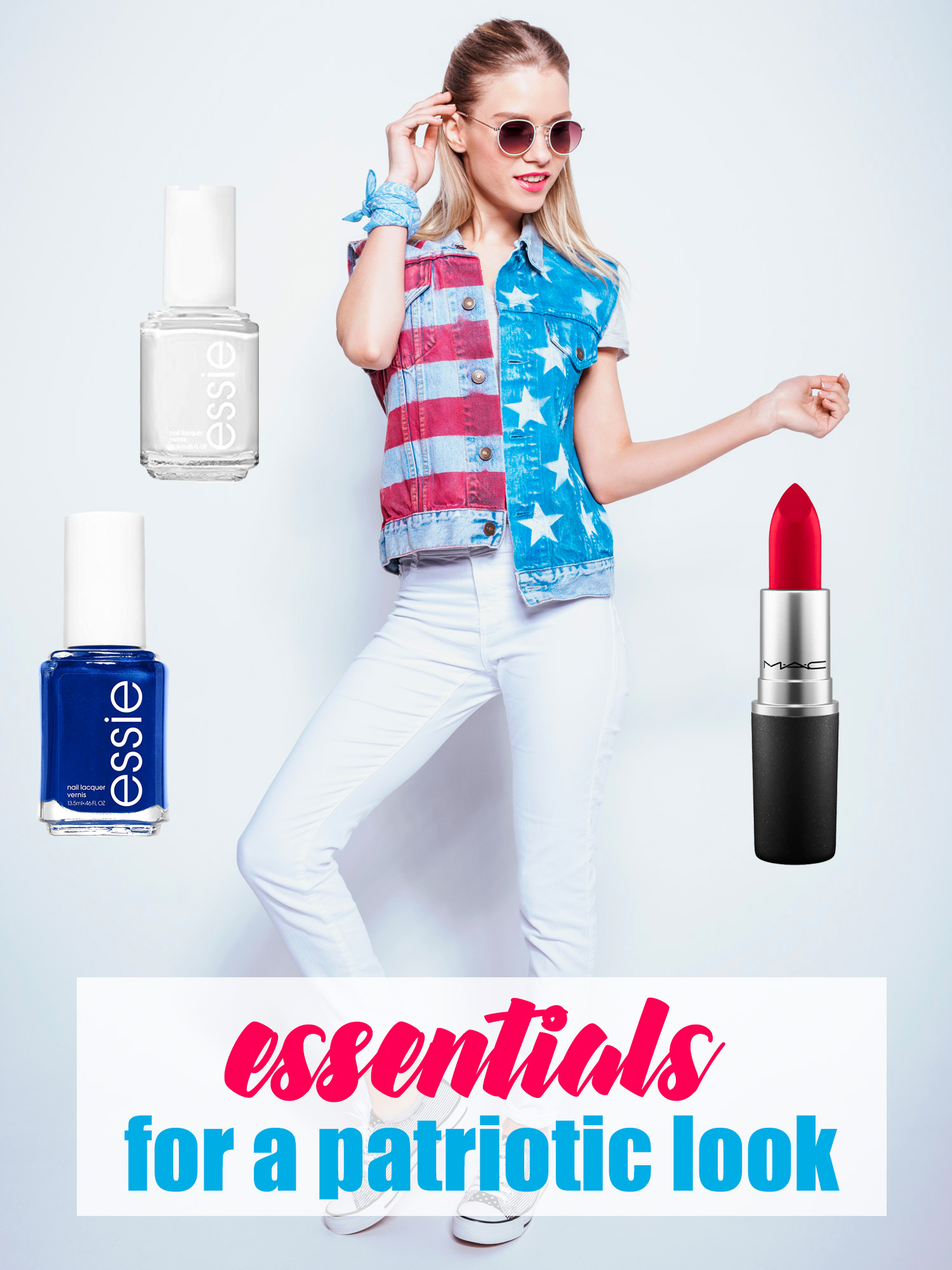 Everything You Need to Put the Ultimate Patriotic Look Together