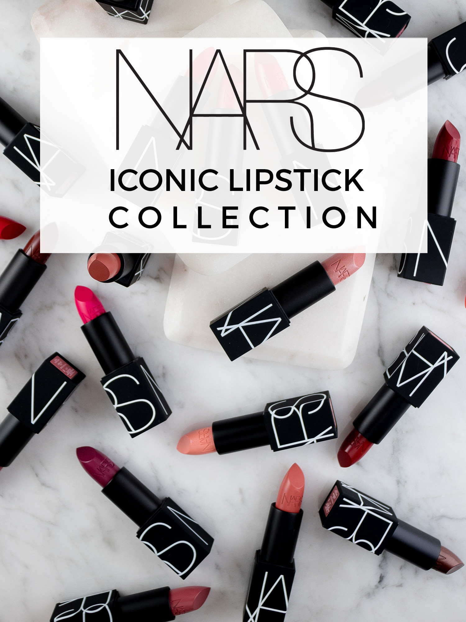 NARS Iconic Lipstick Collection
