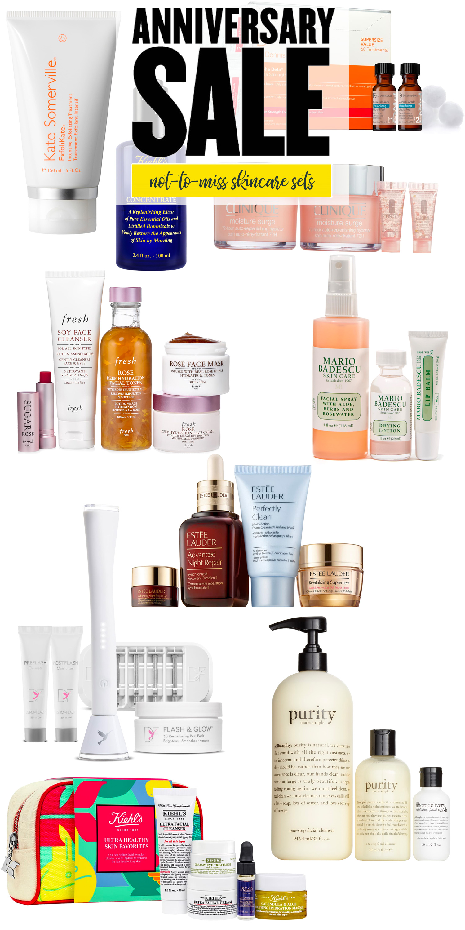 Nordstrom Anniversary Sale 2019: Not to Miss Skincare Exclusives