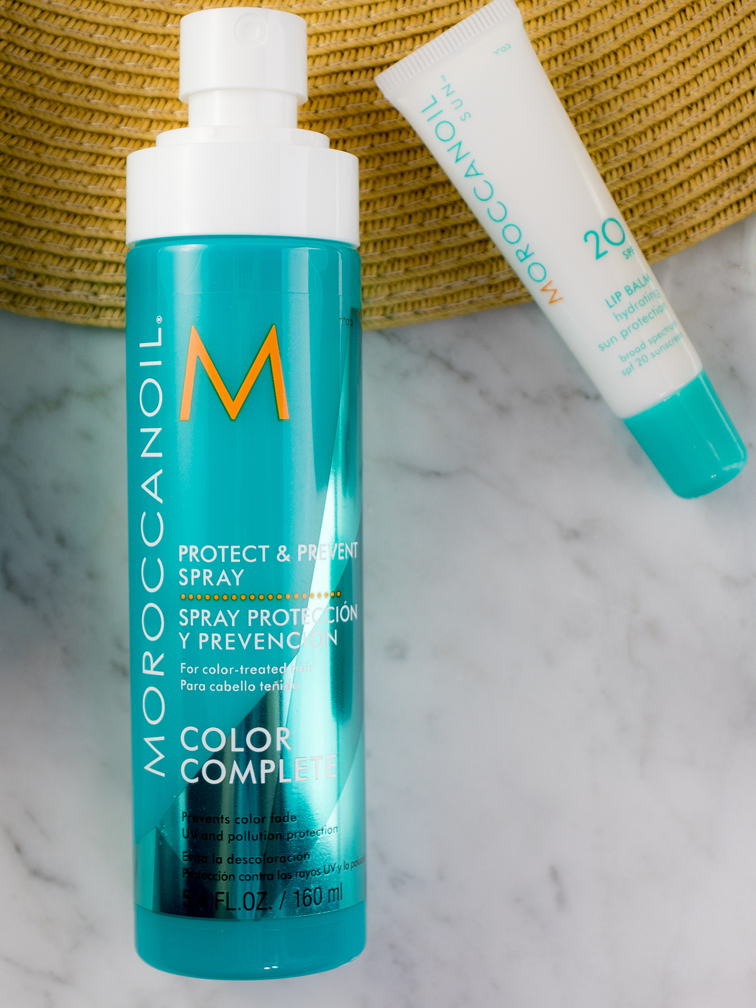 Moroccanoil Sun Protection Favorites: Protect & Prevent Spray
