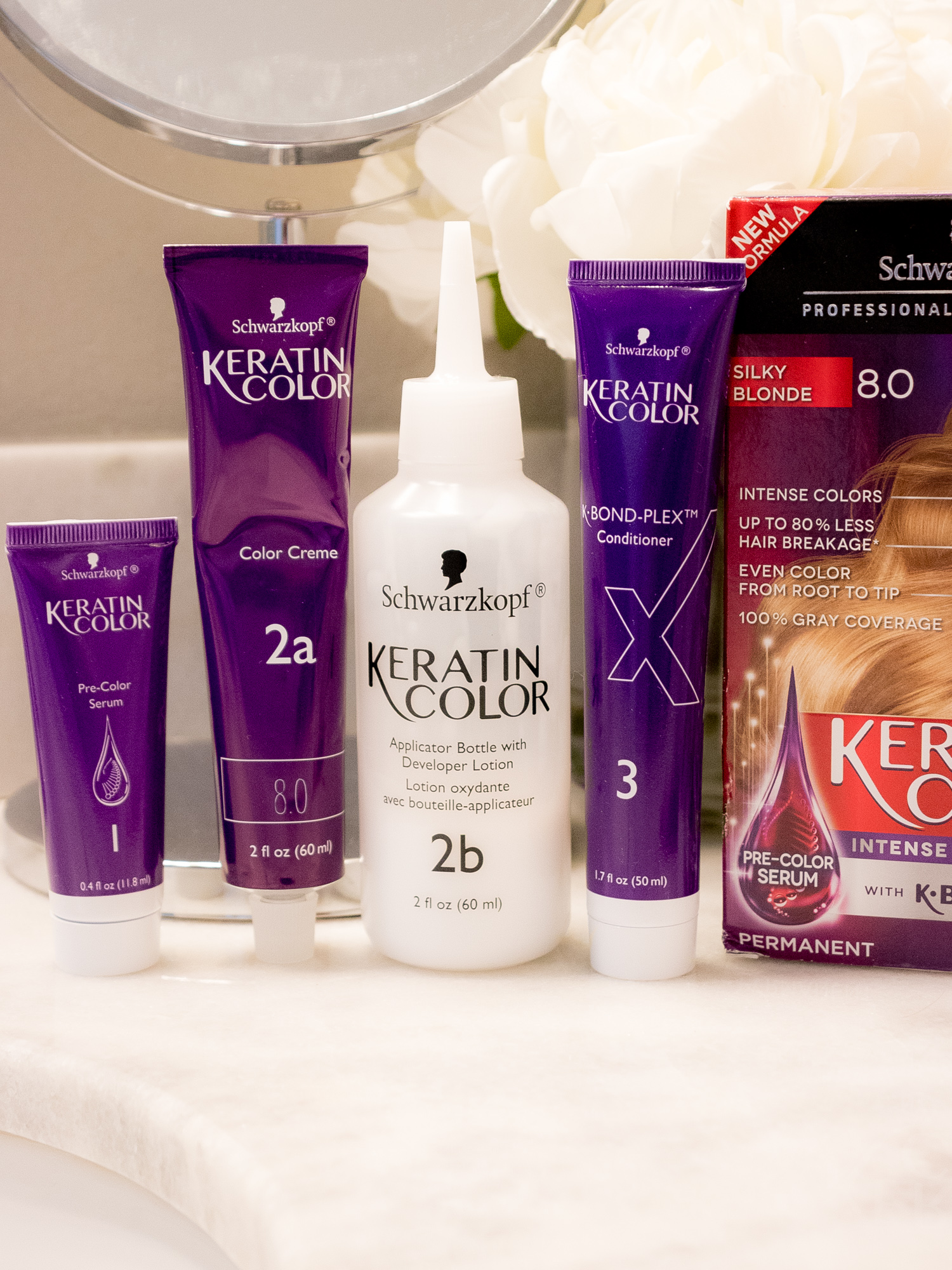 My Fall Hair Care + Color Routine with Keratin Color
