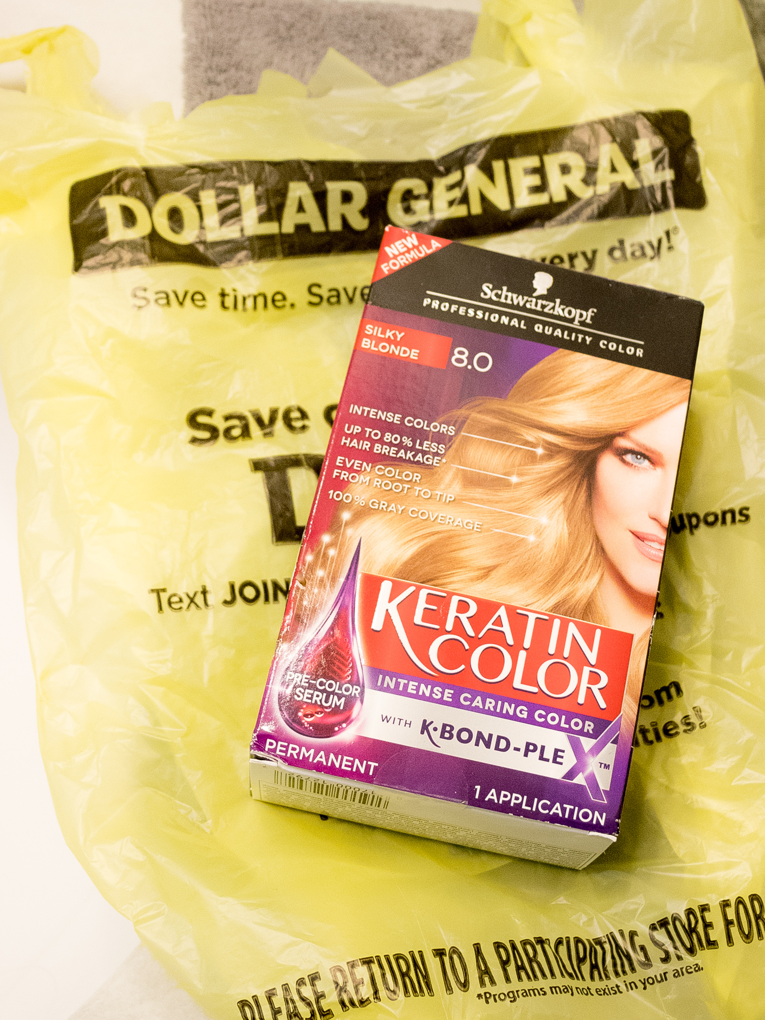 Keratin Color at Dollar General