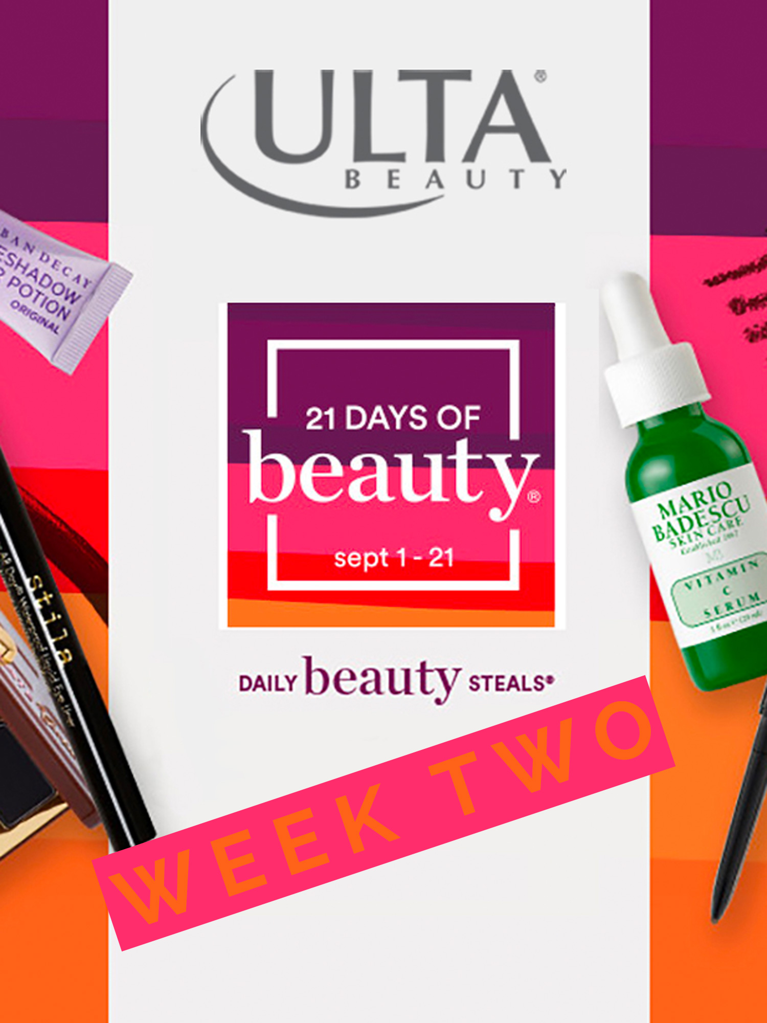 ULTA 21 DAYS OF BEAUTY WEEK 2 DEALS