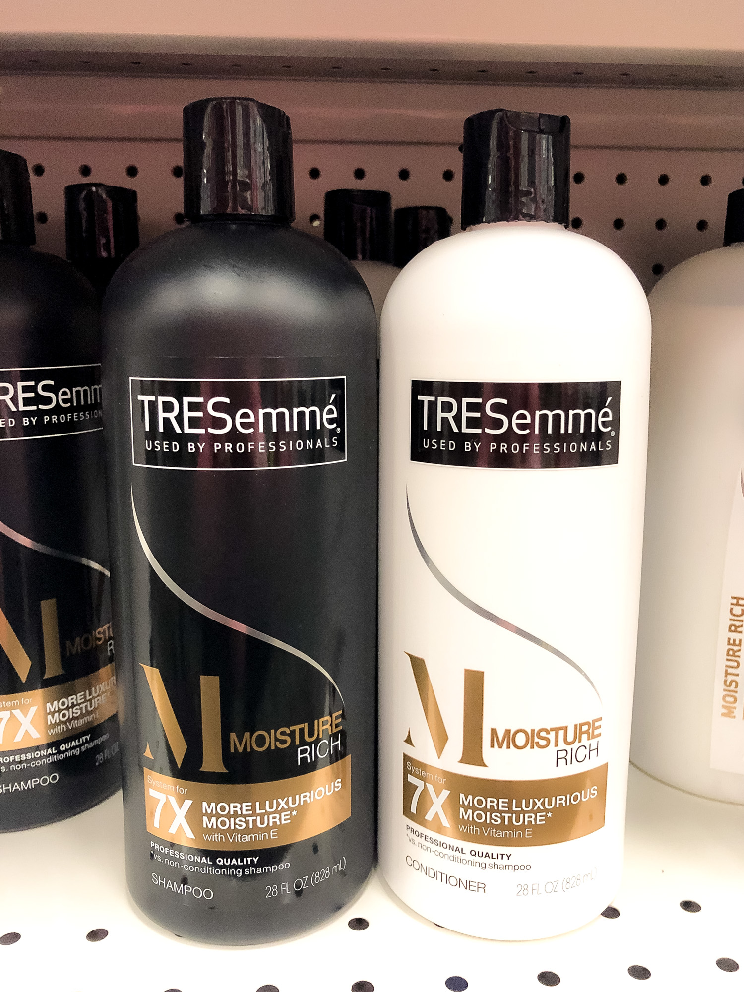 TRESemmé® Moisture Rich Shampoo and Conditioner