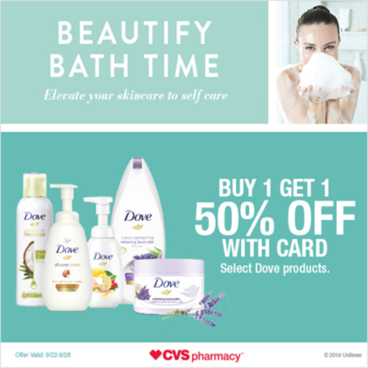 Buy 1 Get 1 CVS Dove Offer