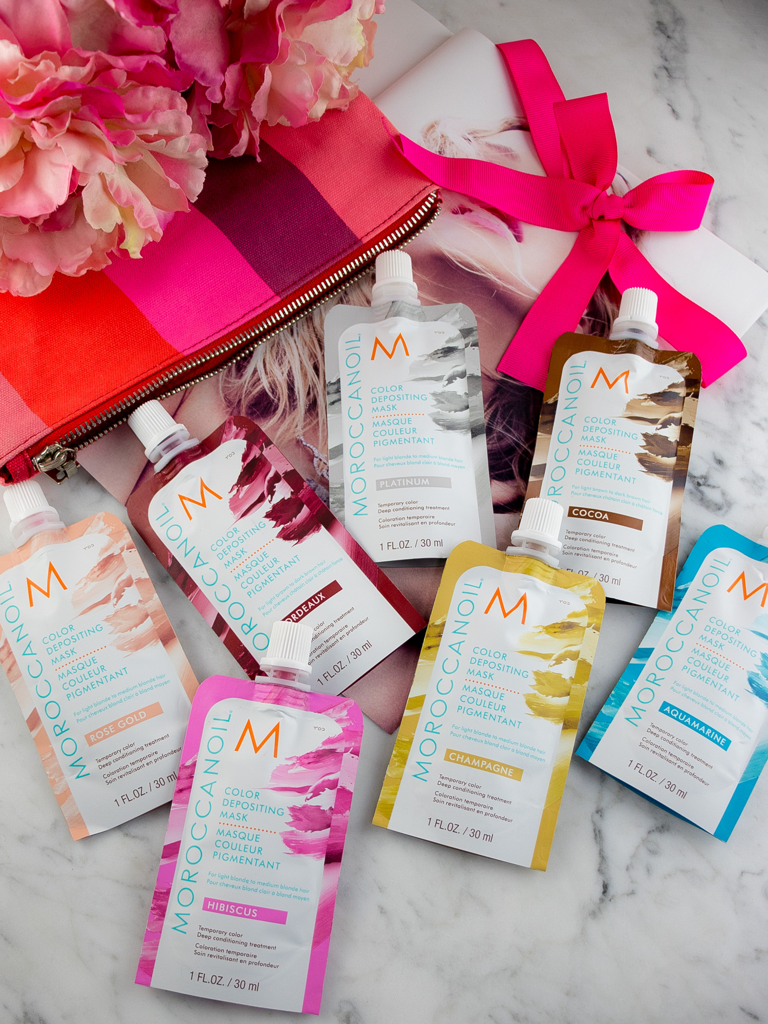 Moroccanoil Color Depositing Mask Collection