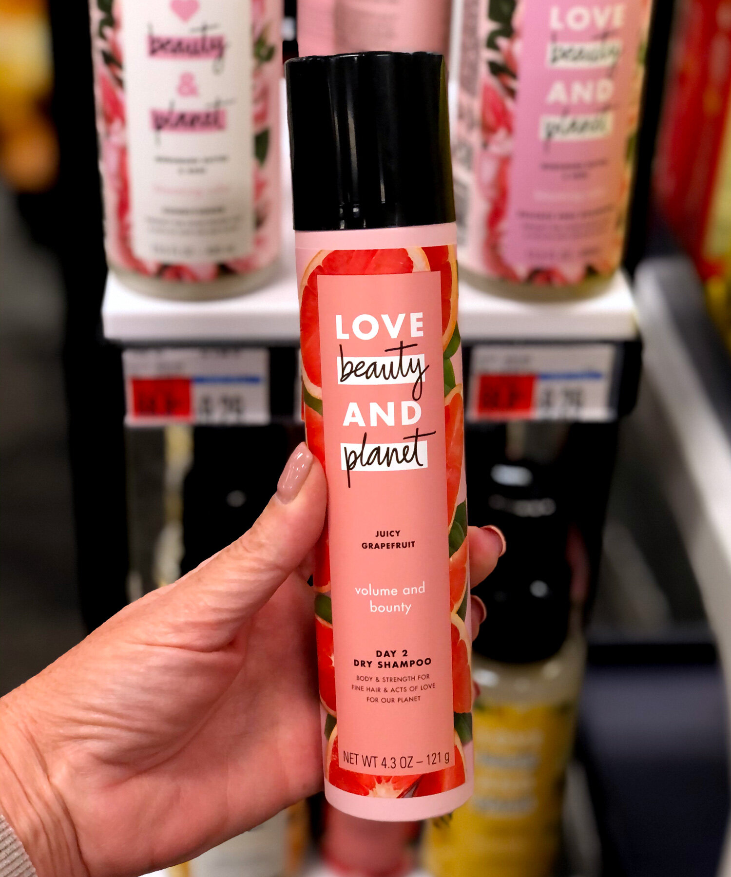 SAVE on Love, Beauty and Planet Dry Shampoo at CVS