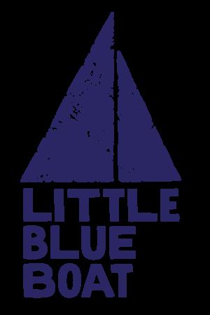 Little Blue Boat - primary logo - no tagline - one color - transparent background - (RGB:web).png