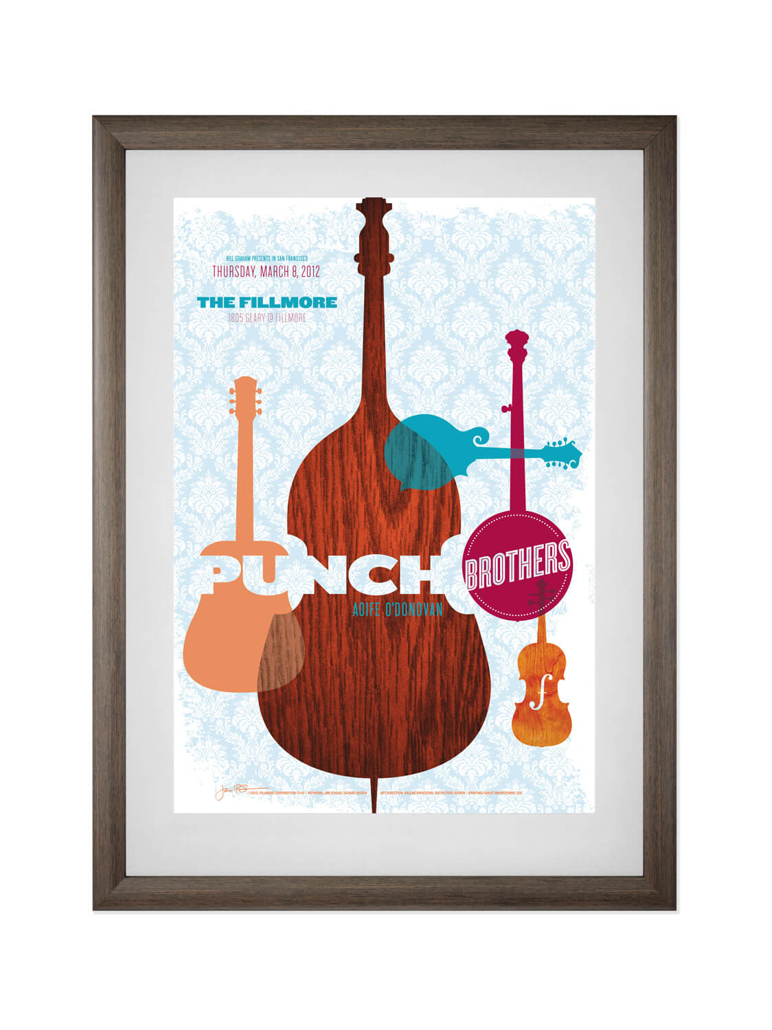 GO GET LOST IN S.F  Poster based on Rickshaw Bagworks' Banners-to-Bags program. View more. Buy now.