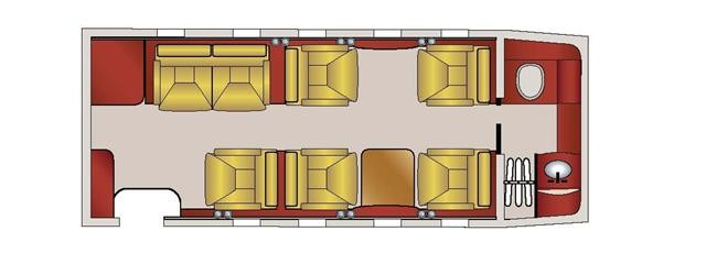 Lear 60, SN 206 Floorplan.jpg