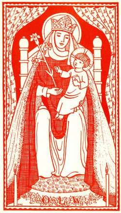 Also at Mass this Sunday we make our May Devotion to our Blessed Mother - bring flowers, and the children will present them upon the Lady Altar.