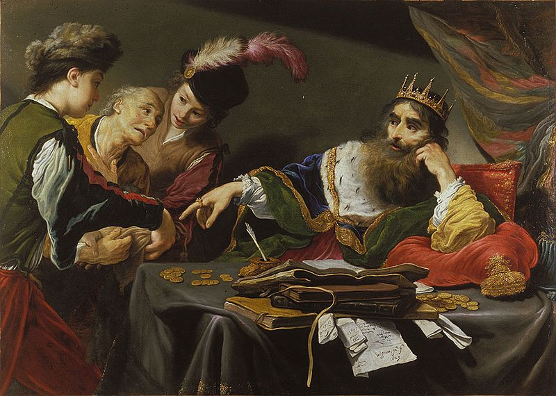Claude Vignon, Parable of the Unmerciful Servant , 1629