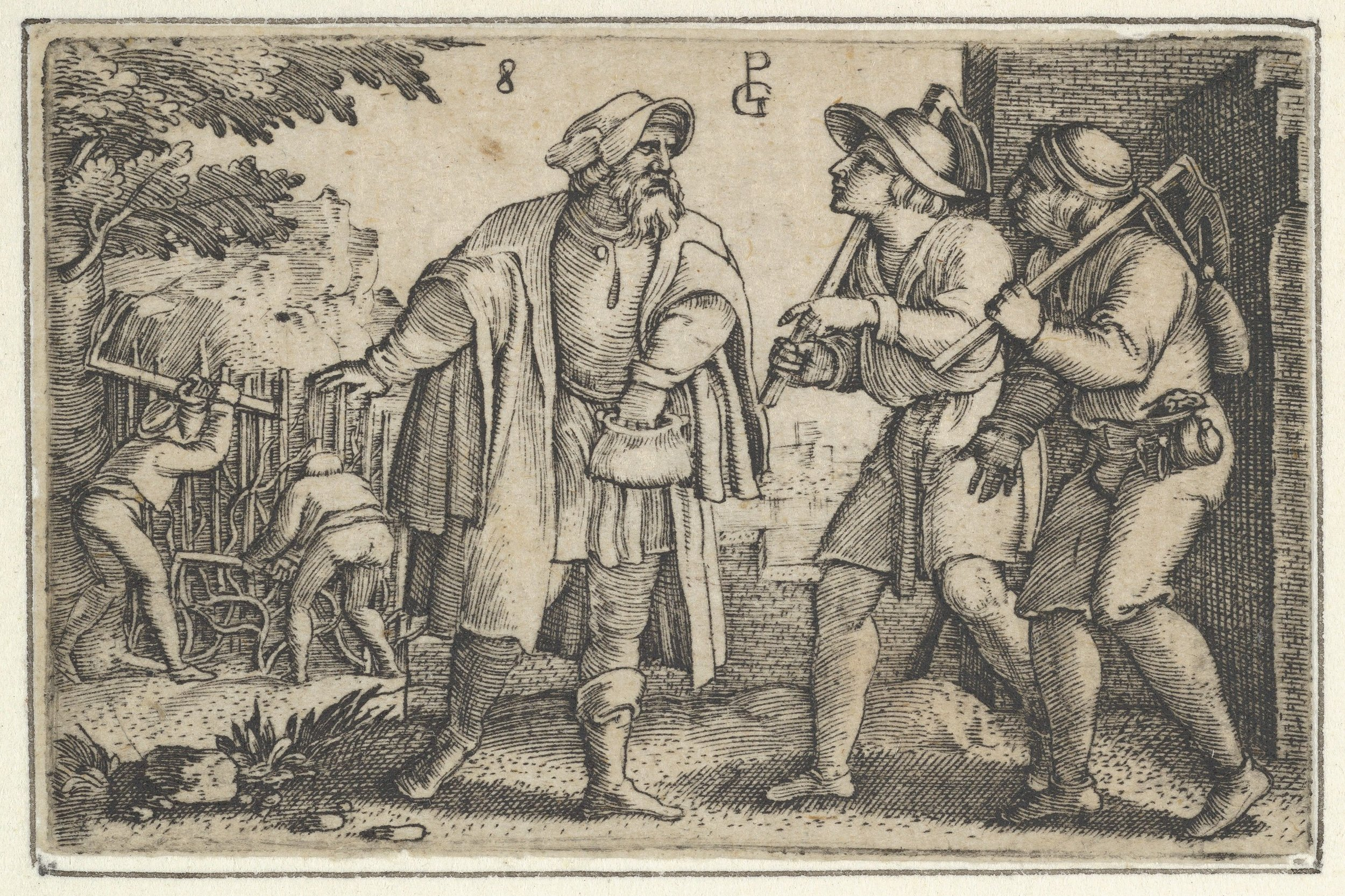 The Parable of the Two Sons, 1534
