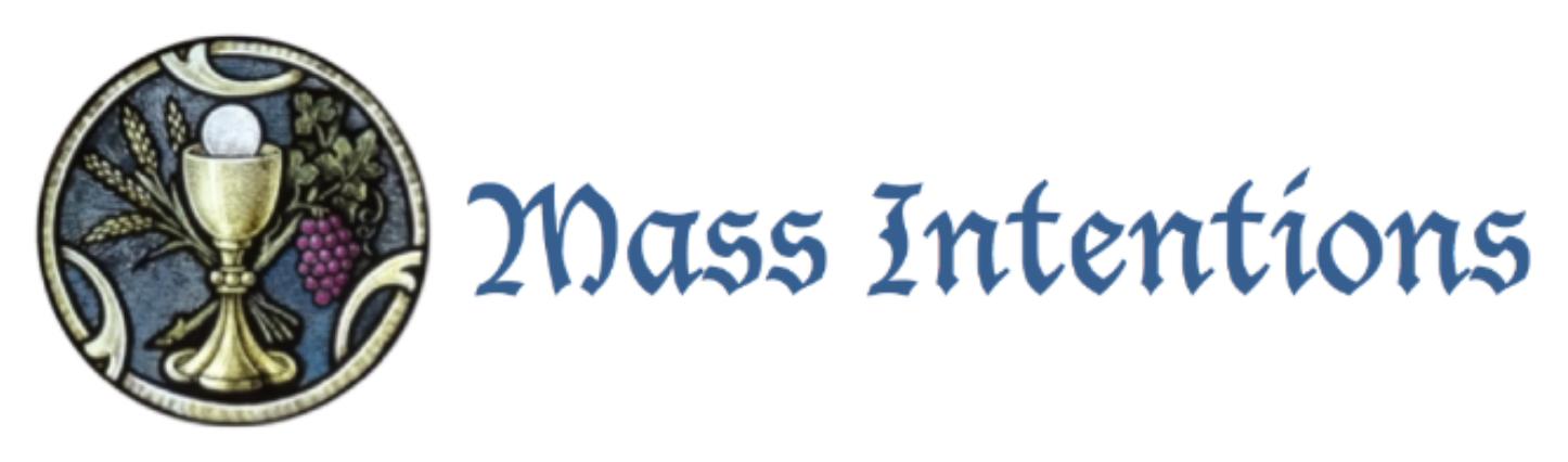 Mass Intentions — CORPUS CHRISTI