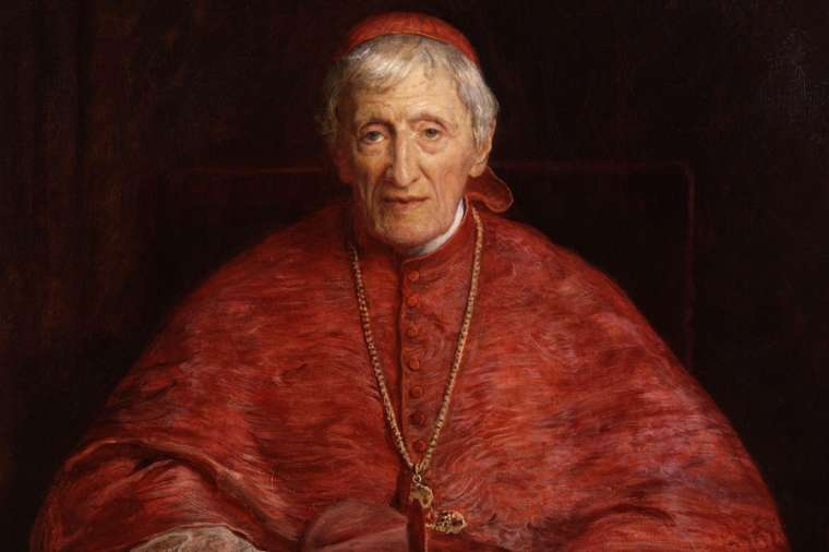 Blessed John Henry Newman by Sir John Everett Millais, public domain