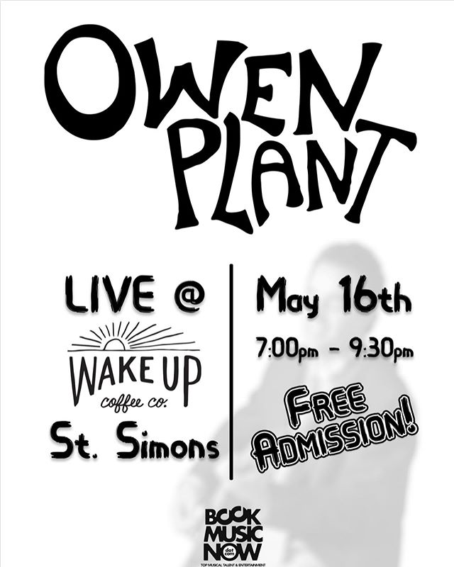 TONIGHT! We're kicking off the summer with our good friend, @owenplantmusic on the patio in Redfern from 7-9:30. We'd love to have you come hang with us for the evening! Tag 2 friends in this post for a chance to win one free drink of your choice (winner announced tomorrow)!