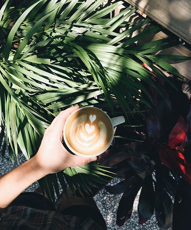 Top of the to-do list for Mondays: great coffee.