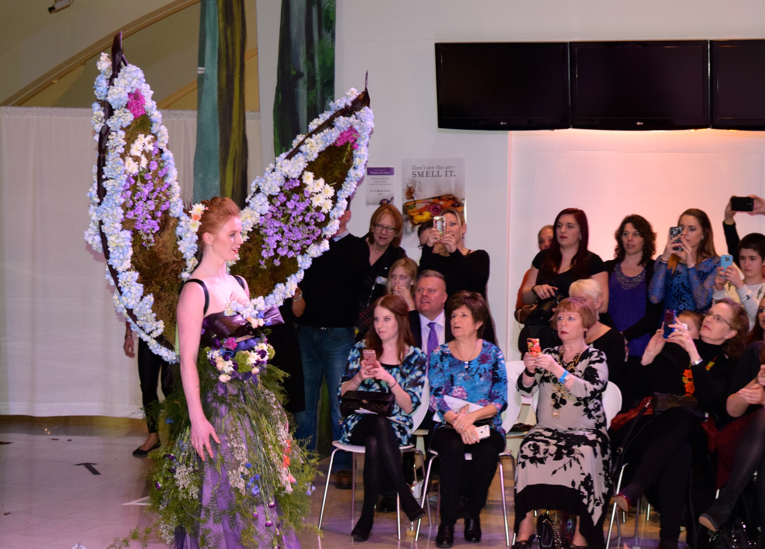 Art in Bloom Floral Fashion Show