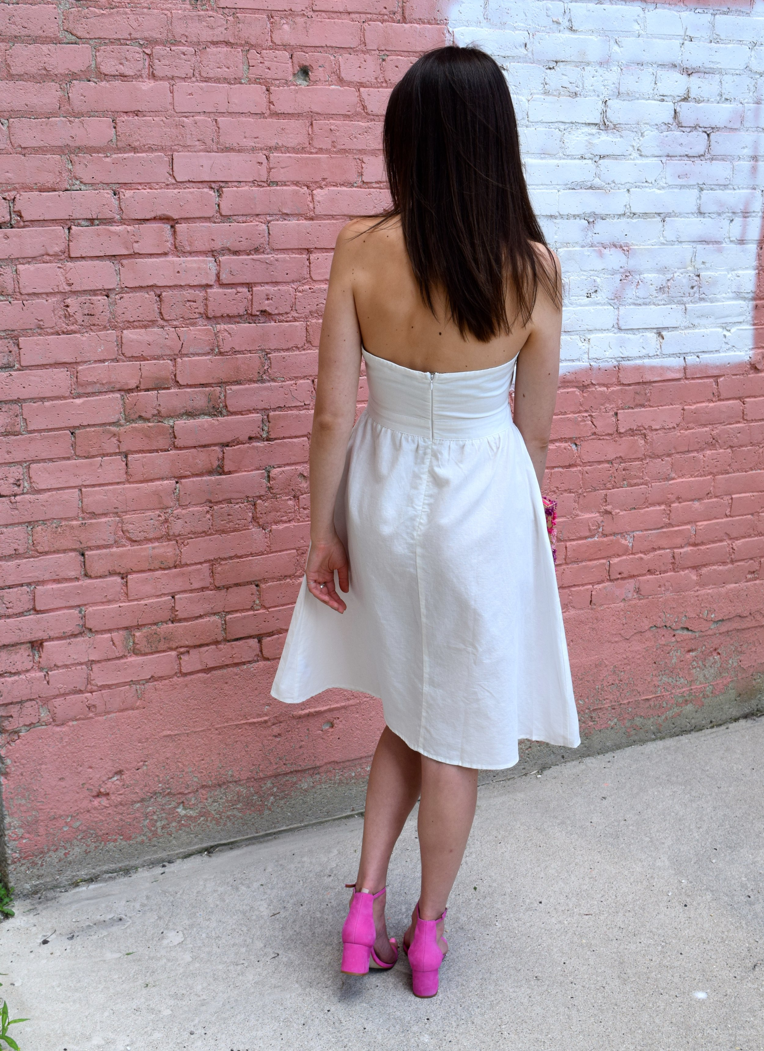 Tobi Linen Halter Dress