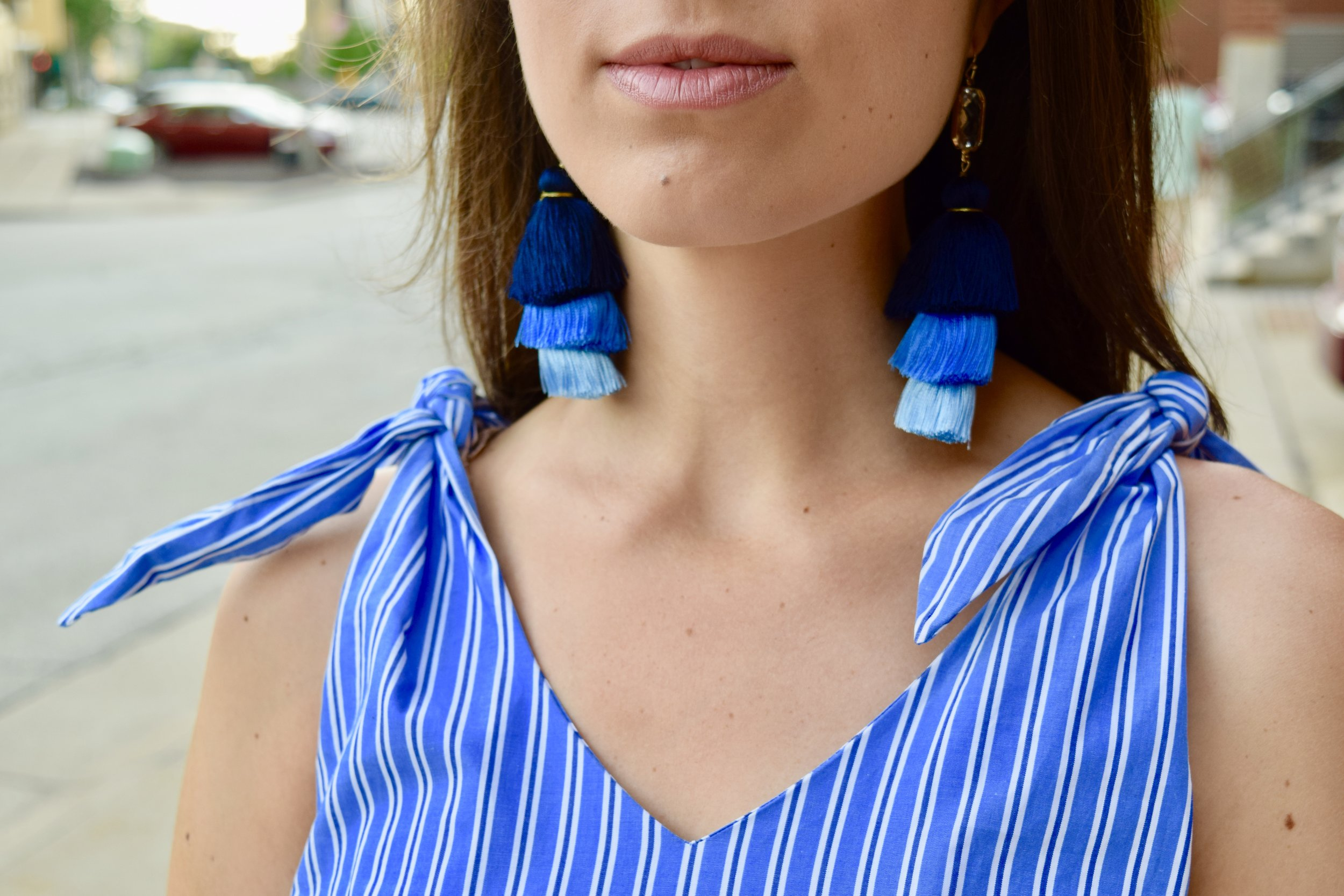 Tiered Fringe Earrings