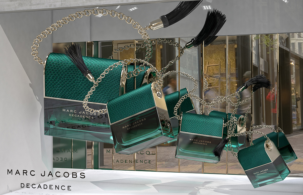 marc jacobs decadence global vm concept