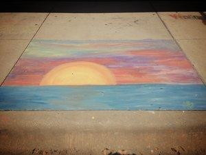 18+3rdPlace a chalk sunset